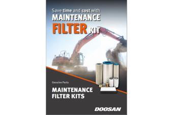 Doosan 2000HR;FILTER MAINTENANCE KIT DX340/380LC-5 0