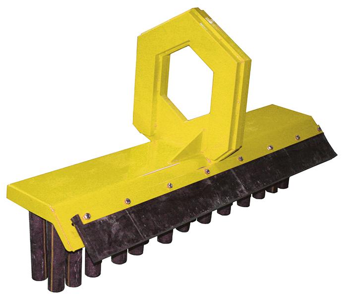 RF-System Sepeliharja pyöröliitännällä tiltin pihteihin 1400mm 175kg