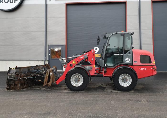 Weidemann 4070 CX100 2011