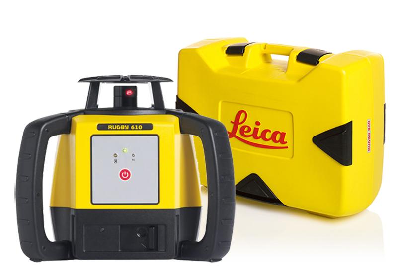 Leica LEICA RUGBY 610 PYÖRIVÄ LASER + KULJETUSLAUKKU