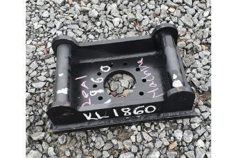Muu valmistaja VASARAKIINNIKE S40 - 10 PULTTIA - Ø 12MM - JAKO 45