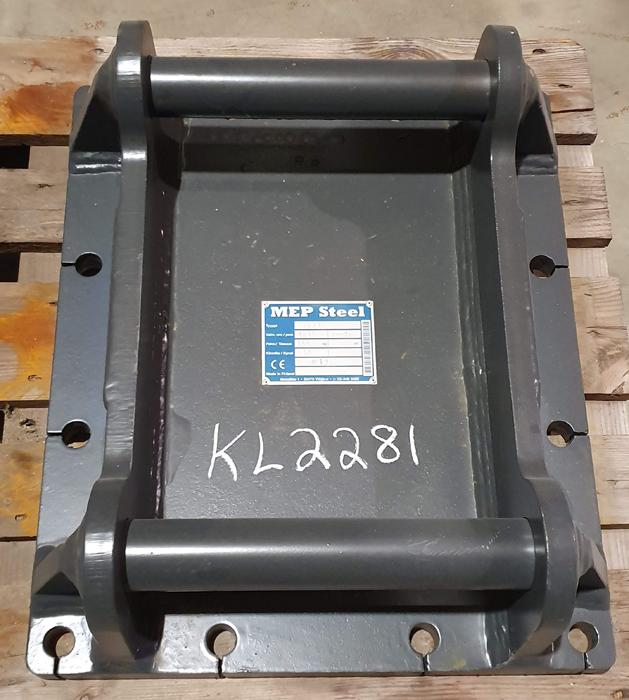MEP Steel M17C ISKUVASARAN KIINNIKELEVY S60 0