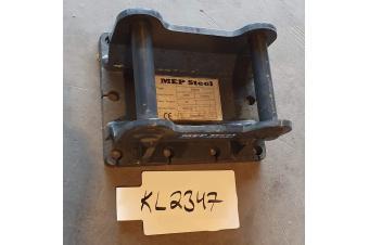 MEP Steel BRETEC EXS1 ISKUVASARAN KIINNIKELEVY S30/150 0