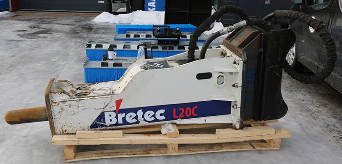 Bretec L20C ISKUVASARA + S80 LIITIN + TALTTATERÄ 0