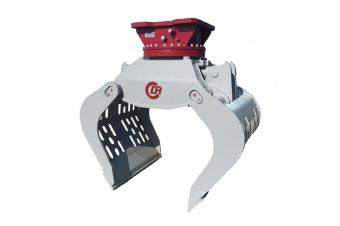 Demarec DRG36 Purkukoura pyörittäjällä 960L 2325mm