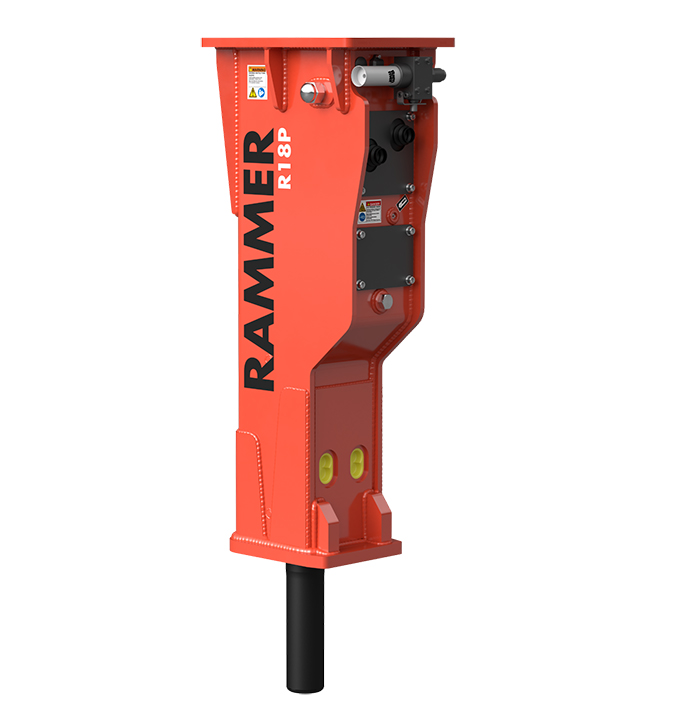 Rammer R18P HYDRAULIVASARA / ISKUVASARA