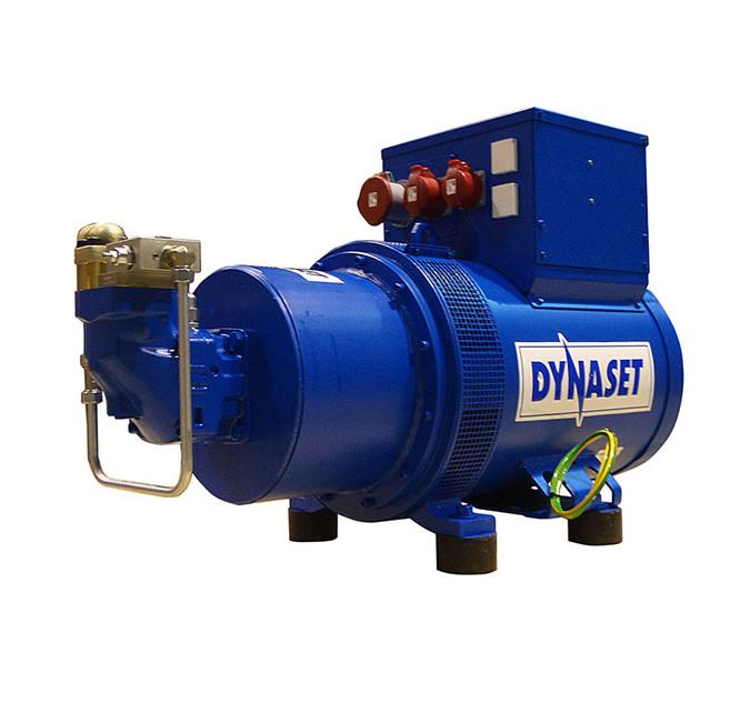Dynaset HG70C HYDRAULIGENERAATTORI 70kVA - 230/400V - 420 bar