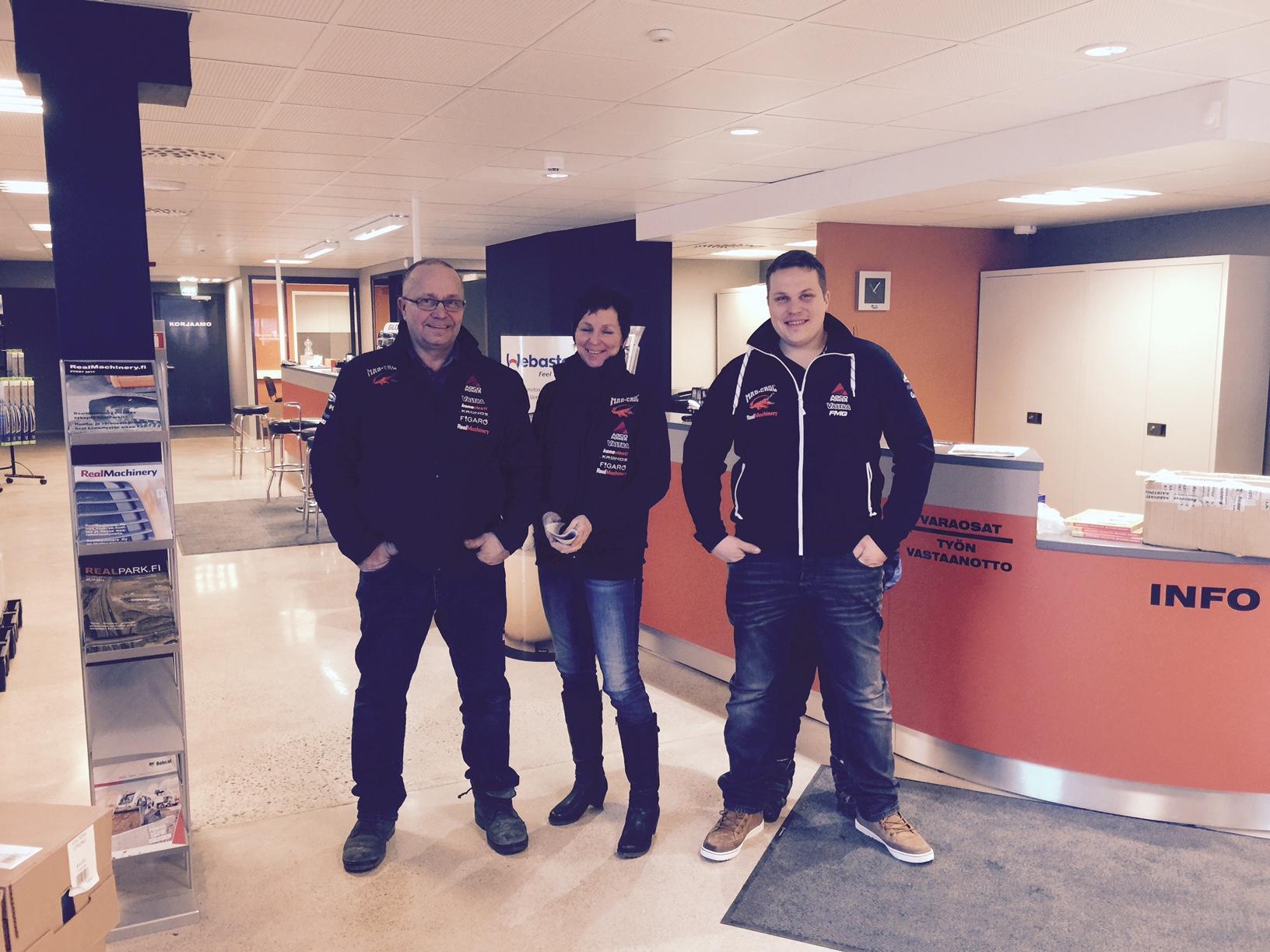 Herlevi Pulling Team matkalla Rottendamiin European Superpull kisoihin.