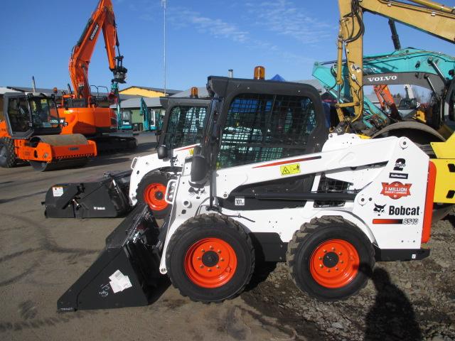 Saarikoski Oy:n uusi Bobcat S510 luovutettiin Oulun Oikeilla Konepäivillä.