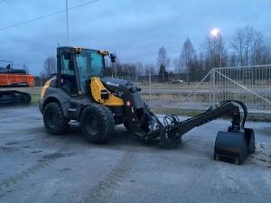 Vantaan Seurakuntayhtymän uusi Mecalac AS900
