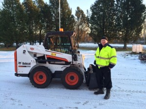 Lestijokilaakso Siivous oy:n uusi Bobcat S510