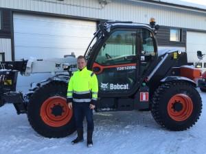 Rakennuspalvelu P&P Heikkinen Oy ja uusi Bobcat T36120SL