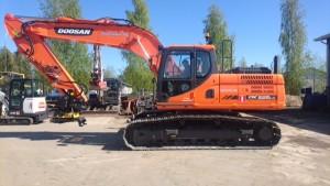 Säävälät Oy:n upea uusi Doosan DX225LC