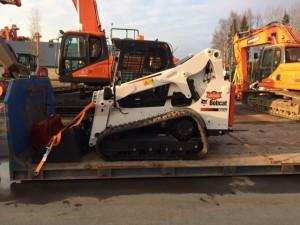 Kk-infra Oy:n uusi Bobcat T650
