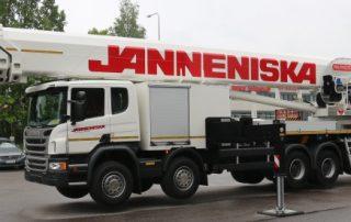 Janneniska:n uusi Palfinger 100metriin asti