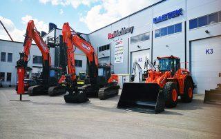 TerraWisen uudet Doosan-koneet esillä Keravalla