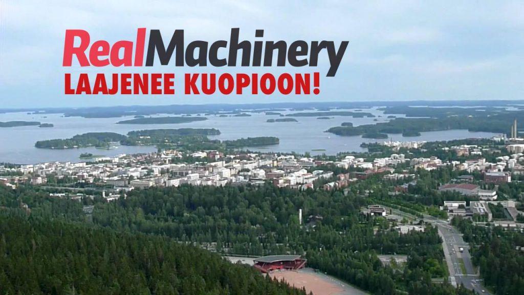RealMachinery laajenee Kuopioon