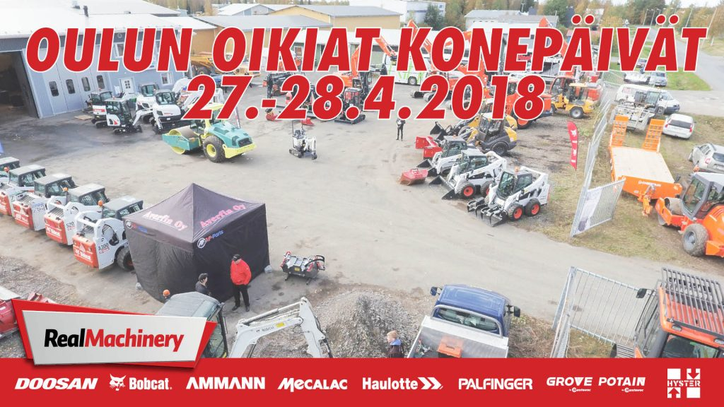 Oulun Oikiat Konepäivät 27.-28.4!
