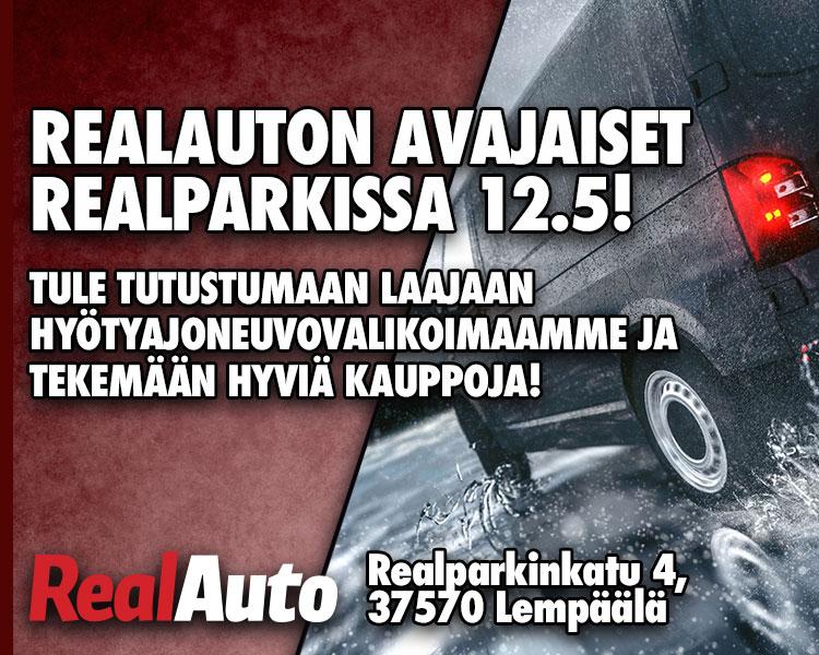 RealAuton avajaiset Lempäälän RealParkissa 12.5!