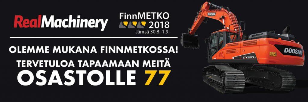Tervetuloa osastollemme 77 FinnMETKOON!