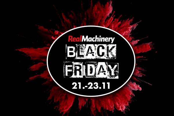 RealMachineryn Black Friday-tarjoukset!